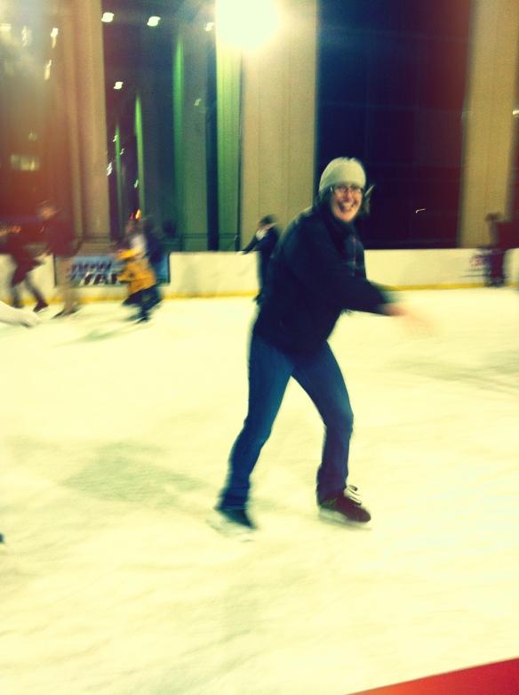 me on skates!